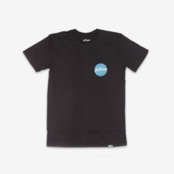 joe panama wavves black t-shirt