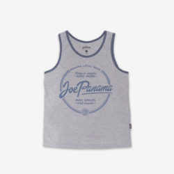 joe panama grey tank top