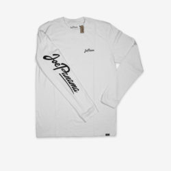 joe panama long sleeve whiite