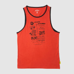 Bocas Surf Spots Tank Top Orange