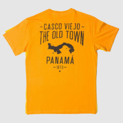 CASCO VIEJO MUSTARD YELLOW TEE