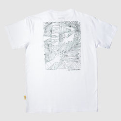 Panama Jungle Map Tee White