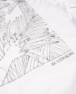 Panama Jungle Map Tee White